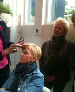 make-up workshop bij 4YOURIMAGE met Nancy Jaspers