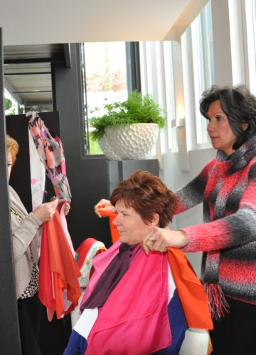 workshop kleur bij 4YOURIMAGE met Nancy Jaspers